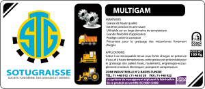 Graisse MULTIGAM